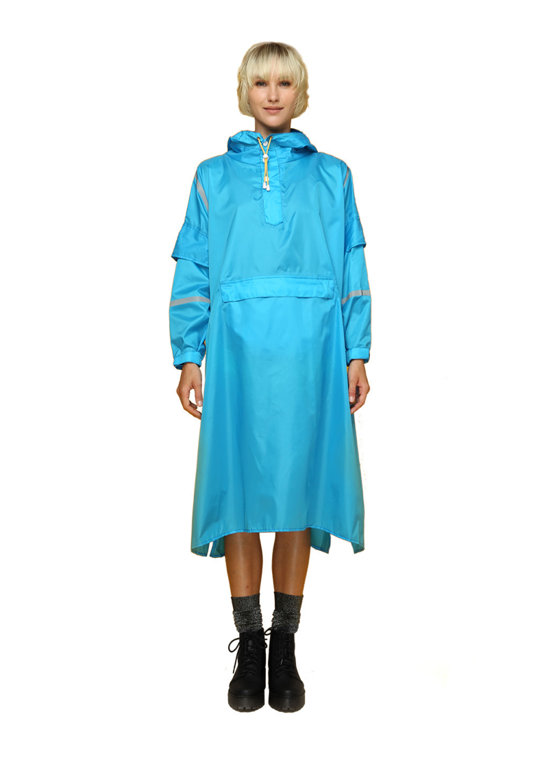 """Zanzibar"" Eco-Friendly Rain Poncho - 365Dry"