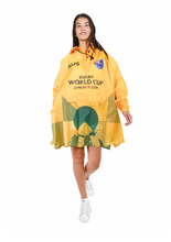 Load image into Gallery viewer, Australia Official Rugby World Cup 2019 Eco-Friendly Unisex Rain Poncho - 365Dry