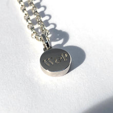 Load image into Gallery viewer, W&P pendant Necklace