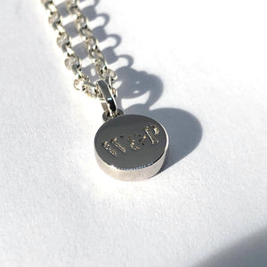 W&P pendant Necklace