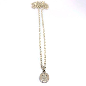 Wheat Pendant Necklace