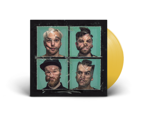 'Raised In The Dark' LIMITED EDITION yellow vinyl LP