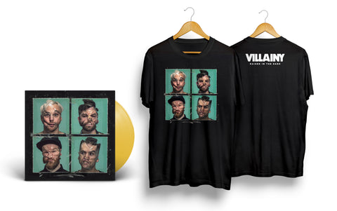 VINYL BUNDLE - Limited Edition 'Raised In The Dark' LP + t-shirt