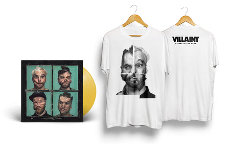 VINYL BUNDLE - Limited Edition 'Raised In The Dark' LP + faces t-shirt