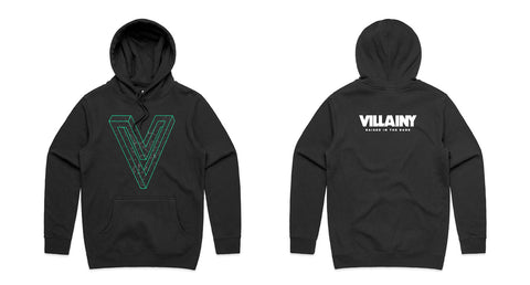 "NEW Villainy ""V"" 2019 Hoody"