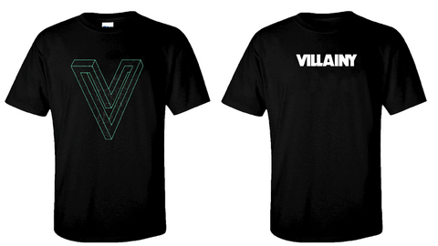 Villainy 'V' 2019 t-shirt
