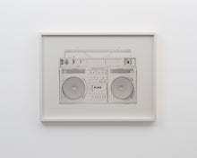 "Load image into Gallery viewer, ""White Boombox - version .001"" by Lyle Owerko"