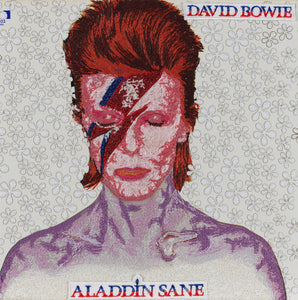 """Aladdin Sane, David Bowie"" by Stephen Wilson"