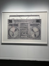 "Load image into Gallery viewer, ""Chrome Boombox v.001"" by Lyle Owerko"