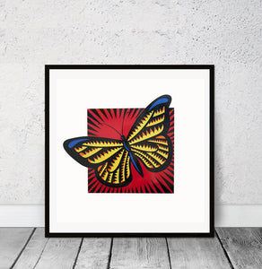 """Monarch Butterfly"" by Burton Morris"