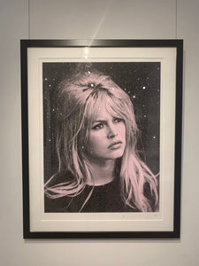 """Bardot, Storm Pink & Black"" by Russell Young"