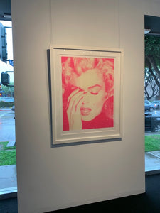"""Marilyn Crying, Suicide Pink"" by Russell Young"