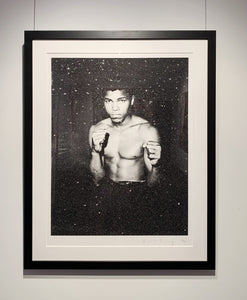 """Ali on Paper"" by Russell Young"