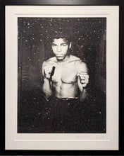 "Load image into Gallery viewer, ""Ali on Paper"" by Russell Young"