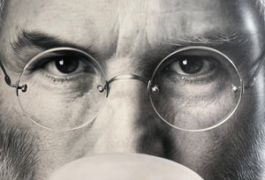 """iBubble - Steve Jobs"" by Michael Moebius"