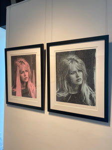 """Bardot on Paper"" by Russell Young"
