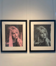 "Load image into Gallery viewer, ""Bardot on Paper"" by Russell Young"