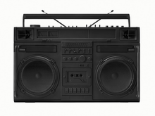 "Load image into Gallery viewer, ""Black Boombox - version .001"" by Lyle Owerko"