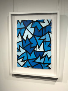 """Untitled (Blue)"" by Spencer MAR Guilburt"
