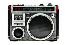 "Load image into Gallery viewer, ""Boombox 25"" by Lyle Owerko"