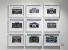"Load image into Gallery viewer, ""Boombox 30"" by Lyle Owerko"