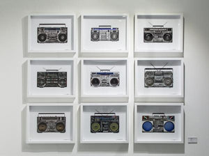 """Boombox 25"" by Lyle Owerko"