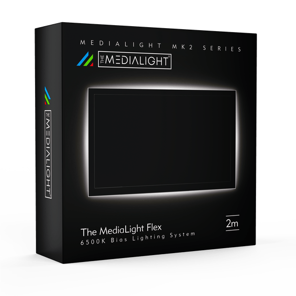 MediaLight Mk2 Flex 6500K CRI 98 Bias Lighting