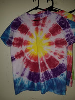 primary color sunburst XL t-shirt