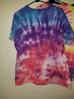 tropical sunset scrunch XL t-shirt