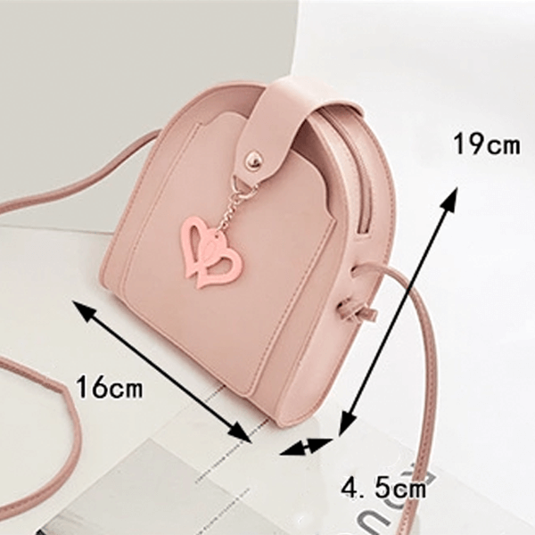 Urban Haute Double Love Strong Leather Handbag - Buy 3 FREE 1