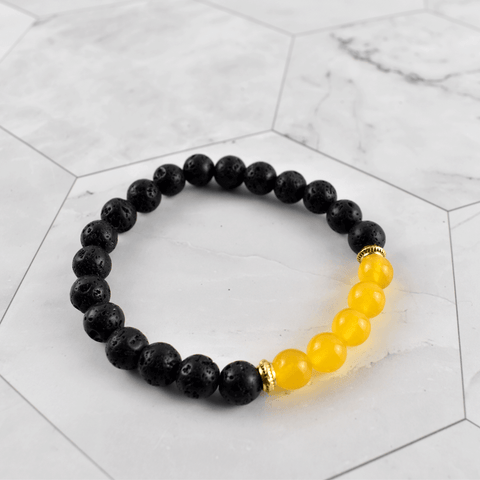 Sun Wealth Crystal Diffuser Bracelet