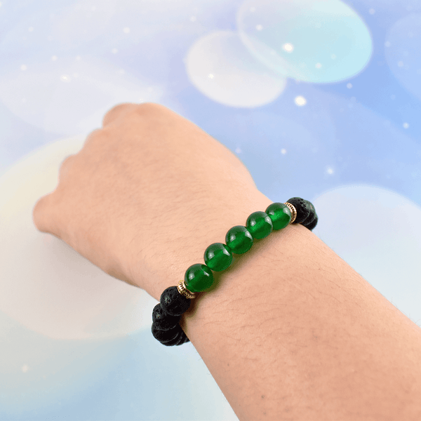Earth Health Crystal Diffuser Bracelet