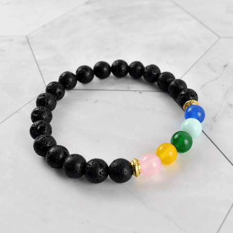 Ultimate Multi Element Crystal Diffuser Bracelet