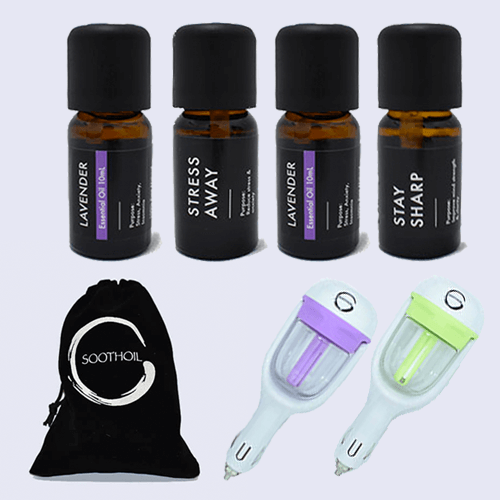 The In-Car Essential Oil Diffuser Special Combo