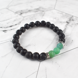 Green Turquoise Diffuser Bracelet