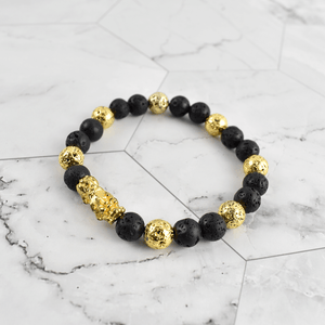 Legendary Golden PIXIU Prosperity Bracelet