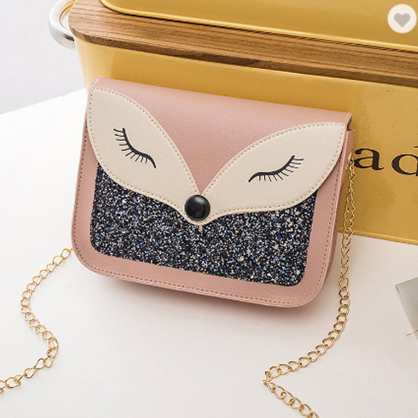 Paradise Boutique Cute Beauty Fox Glitter Handbag - Buy 1