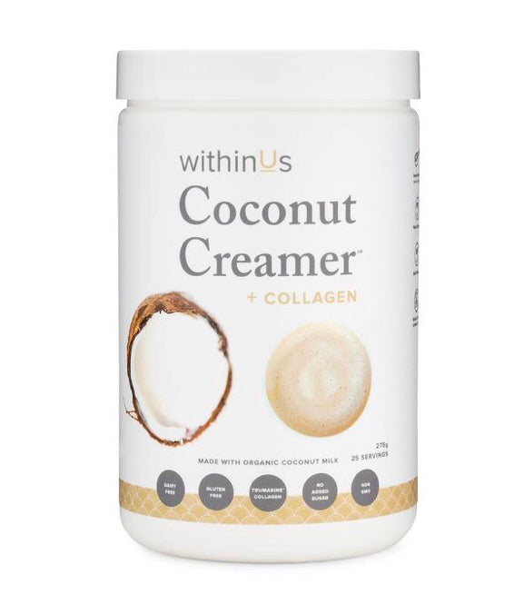 withinUs Coconut Creamer Collagen