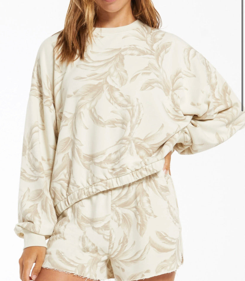The Mason Palm Long Sleeve in Palm by Z Supply