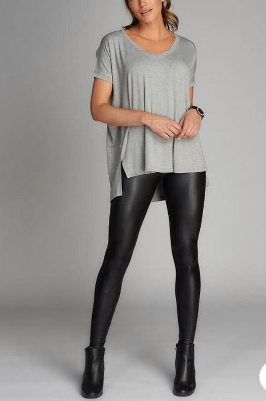 Matte Liquid Hi-Wasted Legging by C'est Moi