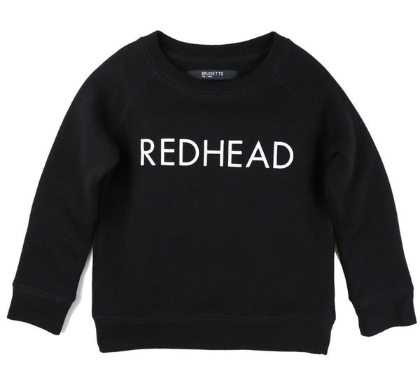 Brunette the Label Kids Crewneck Sweaters - Black
