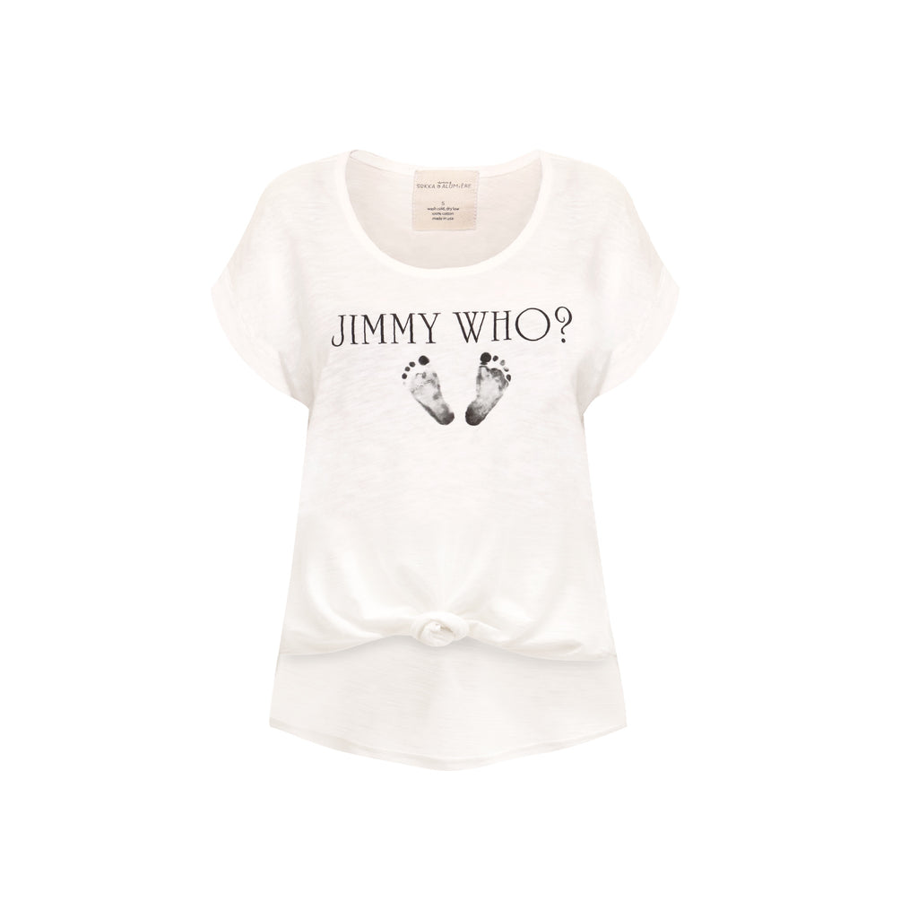 Jimmy Who? Woman's Graphic T-shirt