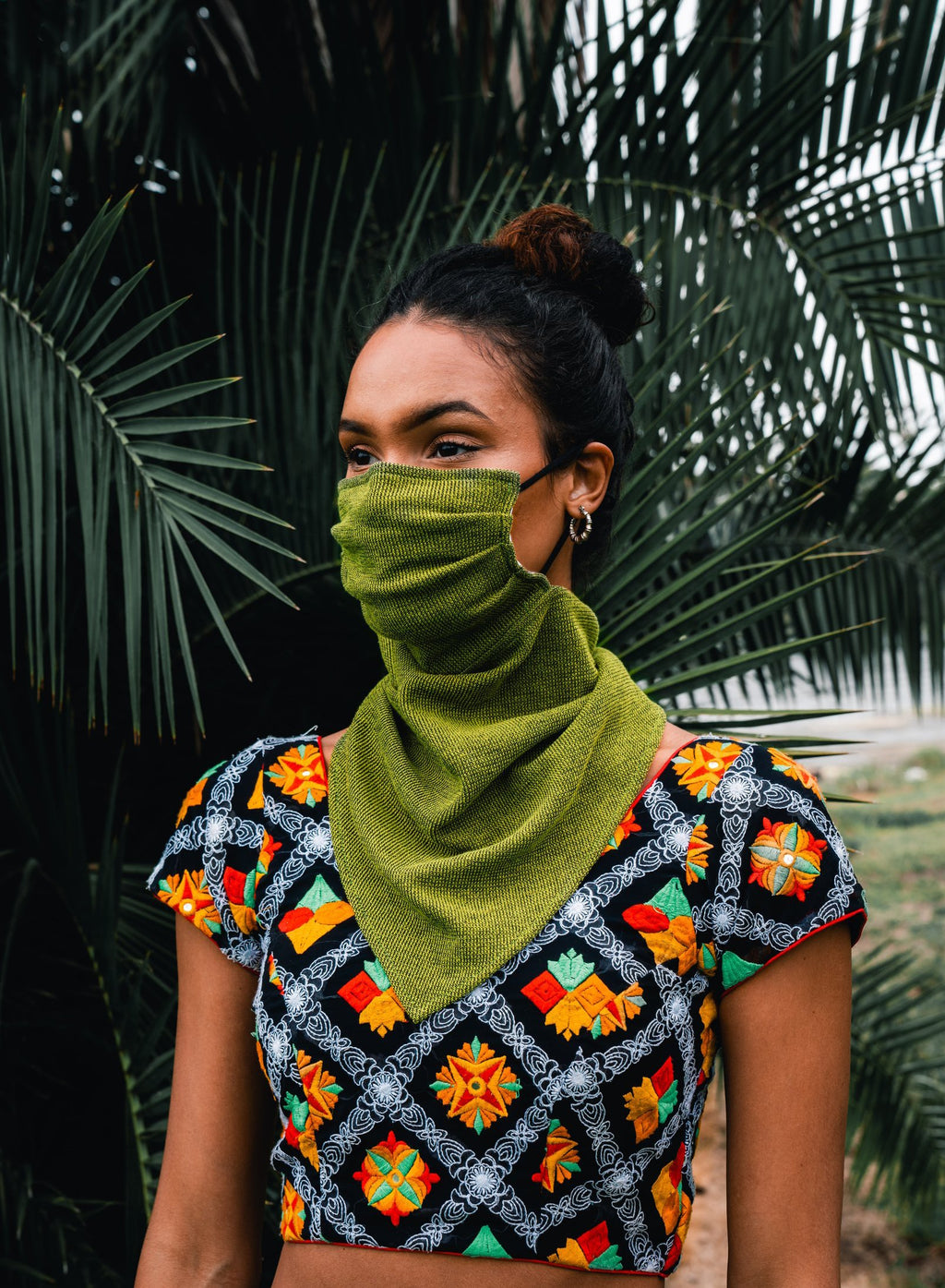 "Anti Drop Unisex Knit Face Mask "" Maskscarf"""