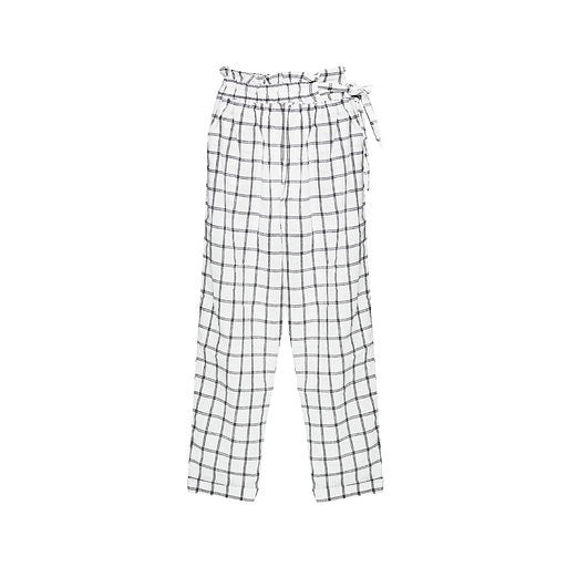 Just Cotton - Light High Waisted Organic Cotton Trousers