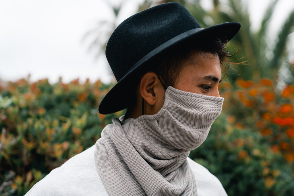 "Men's Anti Drop Knit Face Mask "" Maskscarf"""