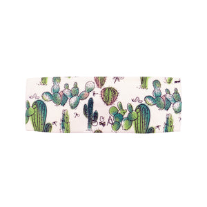 Spineless Prickly Pear Cactus Headwrap - Organic