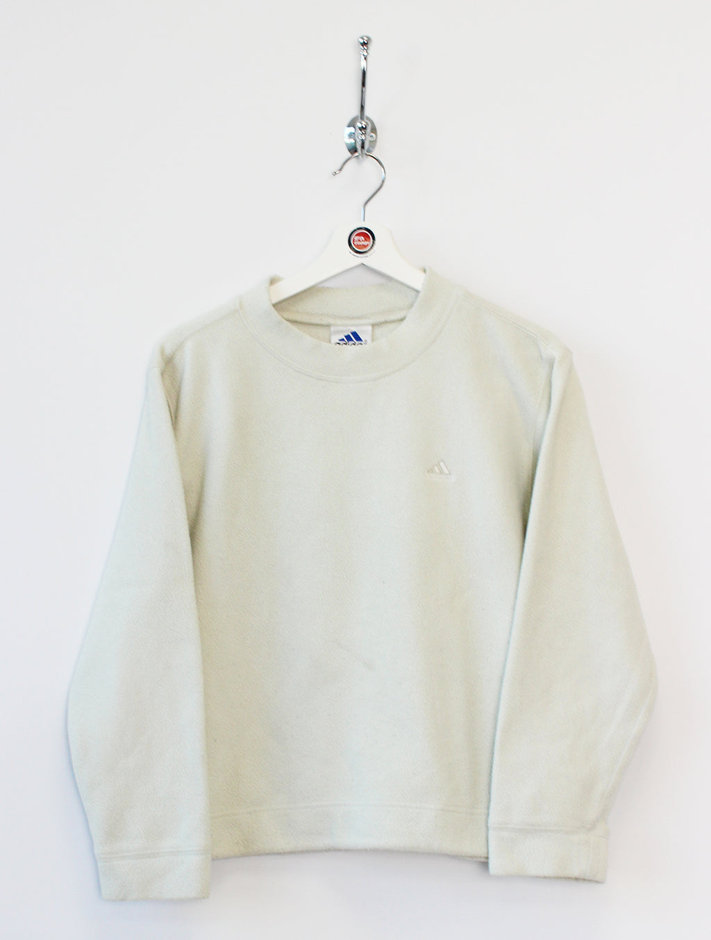 Women's Adidas Fleece Crewneck (S)