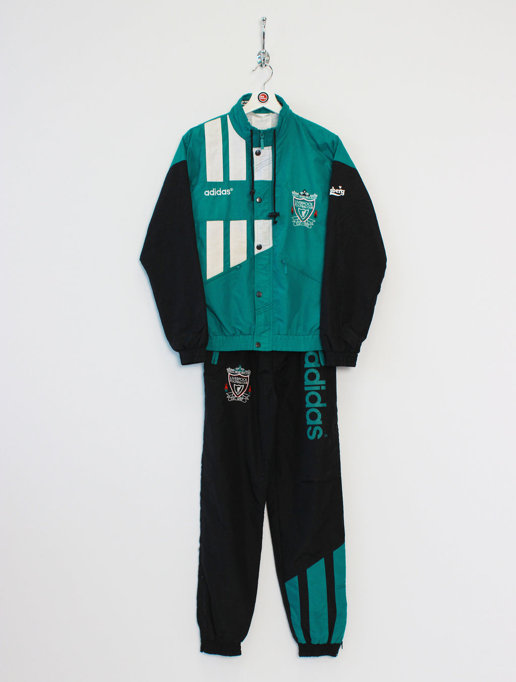 Adidas Liverpool Full Tracksuit (XS/S)