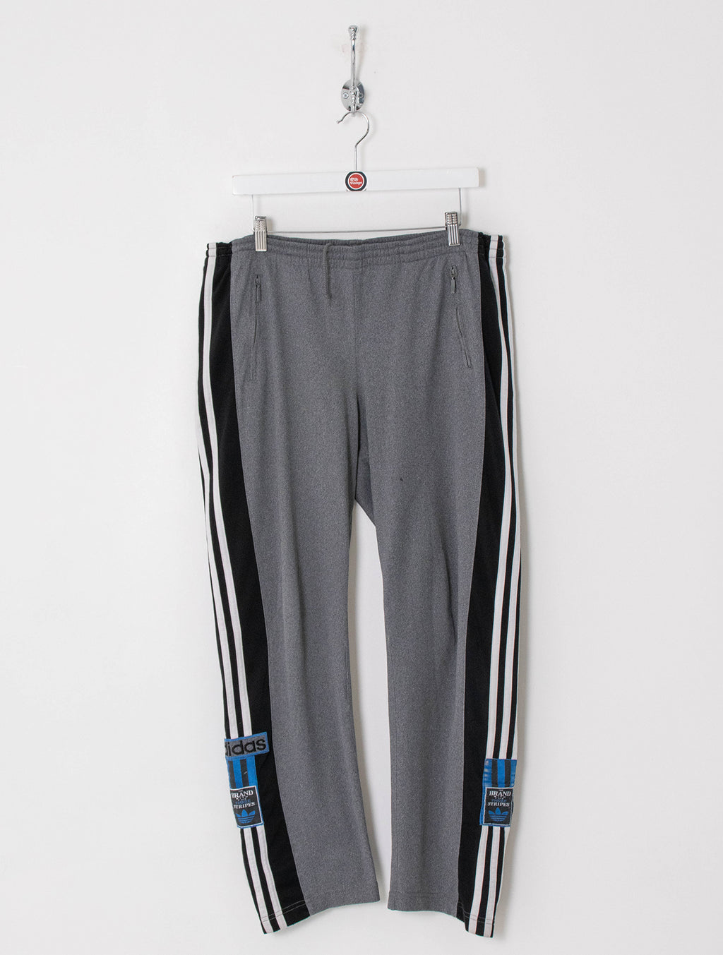 Adidas Popper Track Bottoms (L)