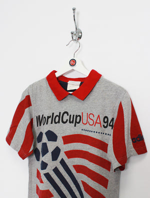 Adidas World Cup 1994 Polo Shirt (XS)